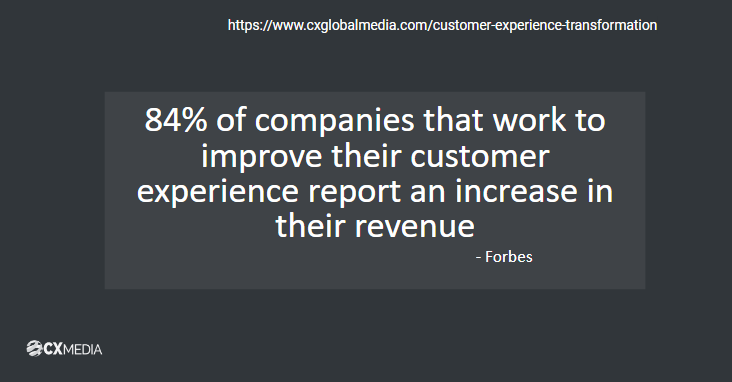 Statistics of Customer Experience Effect on Revenue