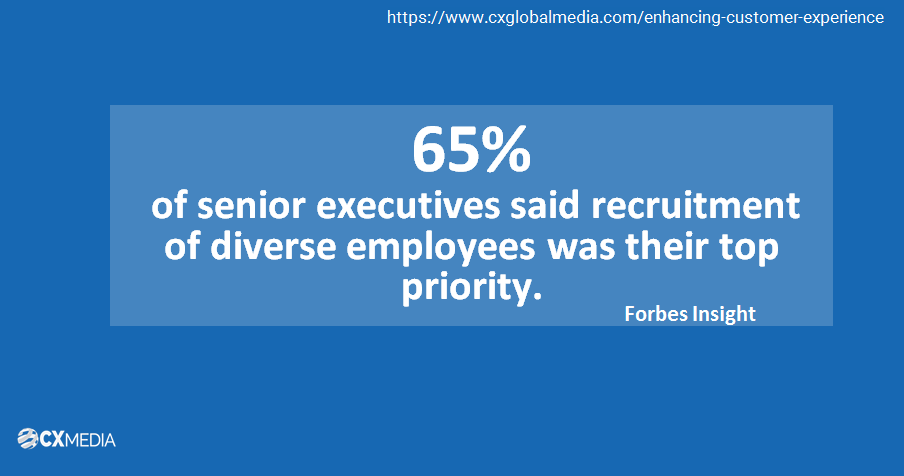 diverse recruitment enhances customer cx