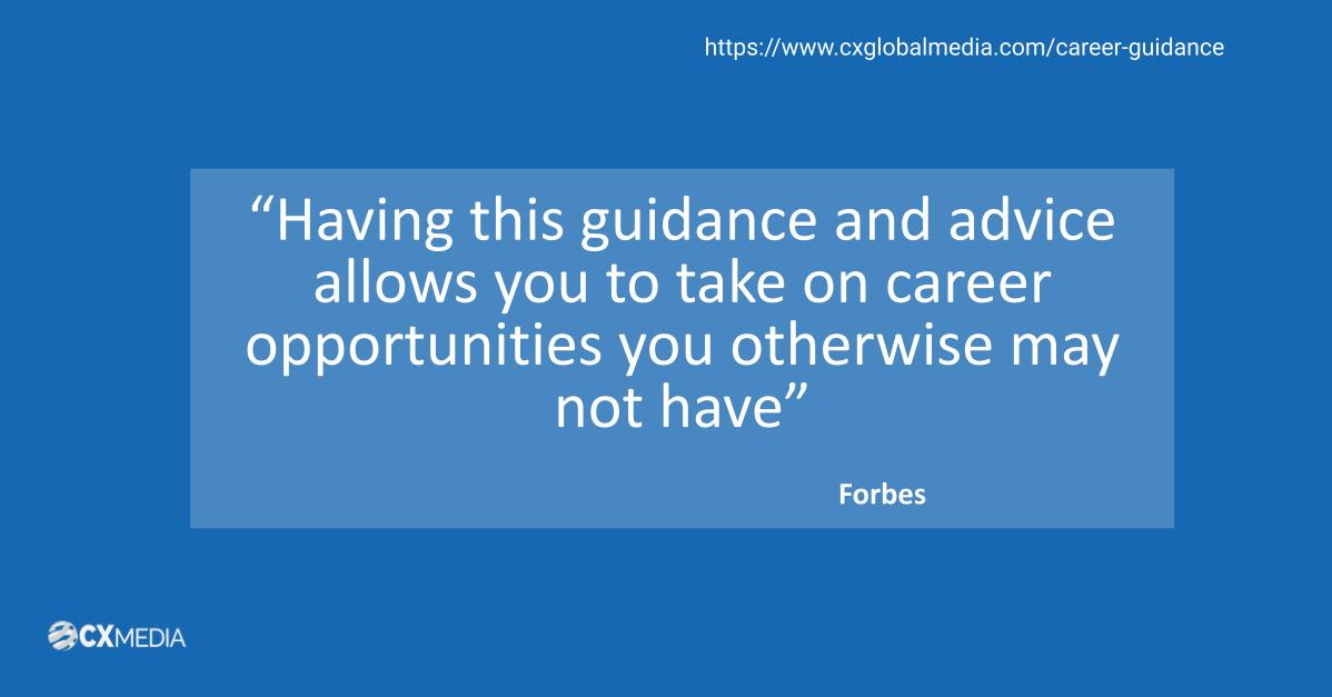 Career Guidance Forbes Quote