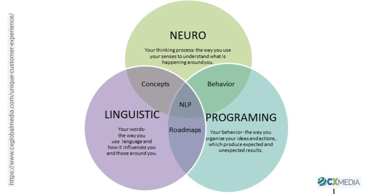 Neuro linguistic Programing Venn Diagram