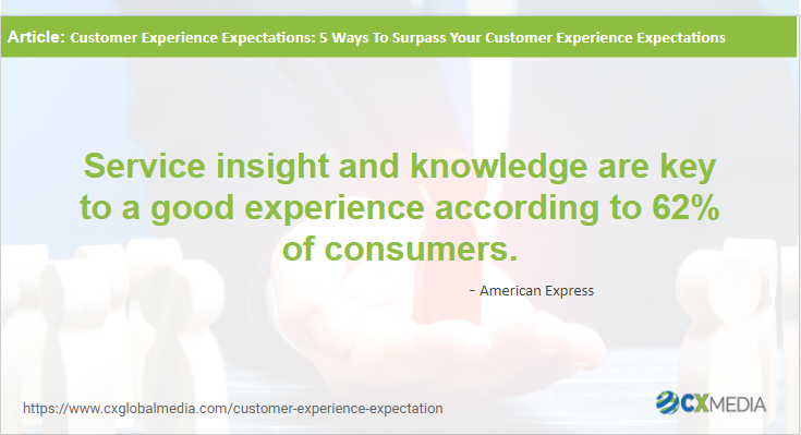 Importance of service insight and knowledge