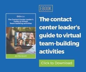 Virtual Team-building Activities for Contact Centers ebook