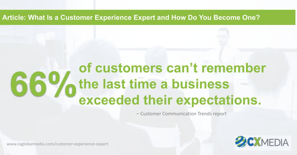 What Is a Customer Experience Expert and How Do You Become One
